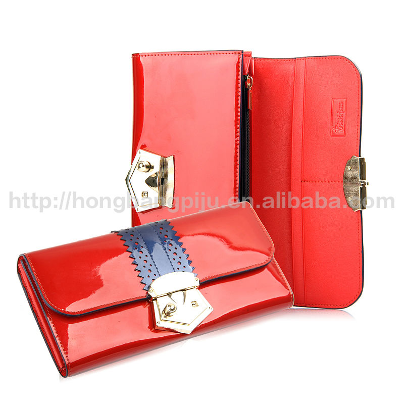 2014 Newest High Quality Genuine /PU Women Wallet Leather products supplier in China