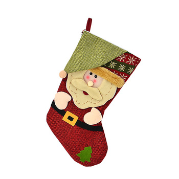 2017 china hot sale party gifts kids 3d funny christmas elf stocking - Funny Christmas Stockings
