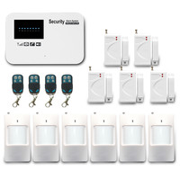 New design! Wireless GSM Home Security System/Wireless Home Alarm kit/Sim Card GSM Burglar Alarm