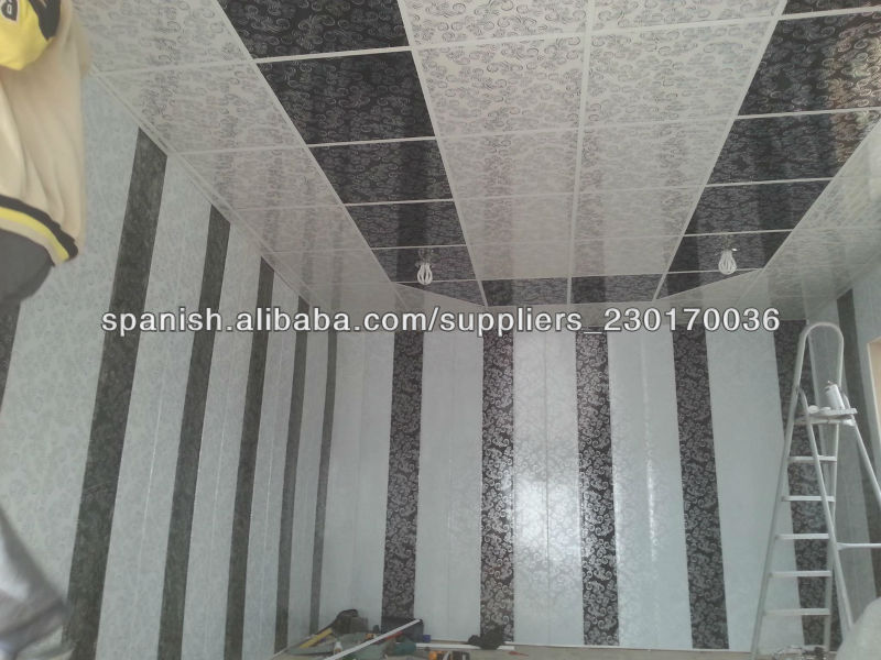 interrior decoration laminated pvc wall paneling,middle groove pvc ceiling laminated wood design,plastic pvc wall 250mm