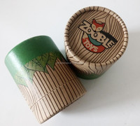 Biodegradable recycled kraft paper custom cylinder cardboard tube packaging