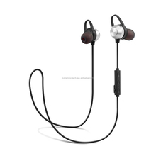 Metal magnetic wireless earbuds ultra small bluetooth headset with microphone RM8