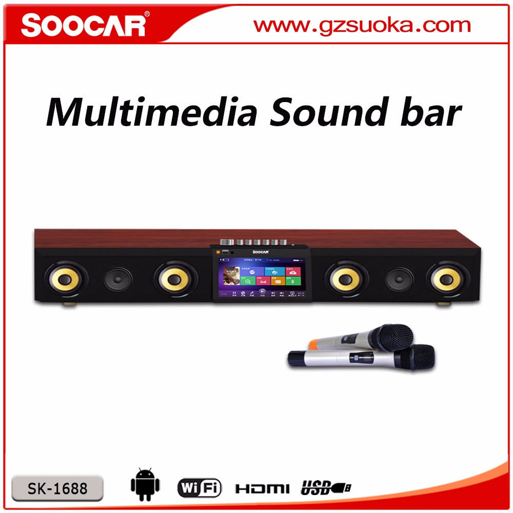 Bluetooth Sound Bar Speakers for TV , Wireless Music Home Audio System Sound Bar