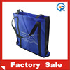 Promotional cheap non woven folding shopping bag wholesale / folding bag into pouch