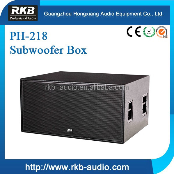 PH-218 dual 18' pro Subwoofer Speaker /Long Throw Subwoofer
