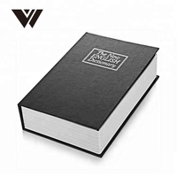 Hidden Secret Diversion Dictionary Book Safe With Digital And Combination Lock/Key Lock Book Safe Secret Box China Supplier