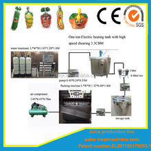 Tajikistan juice/water bag production line(from water treatment to packing machine)