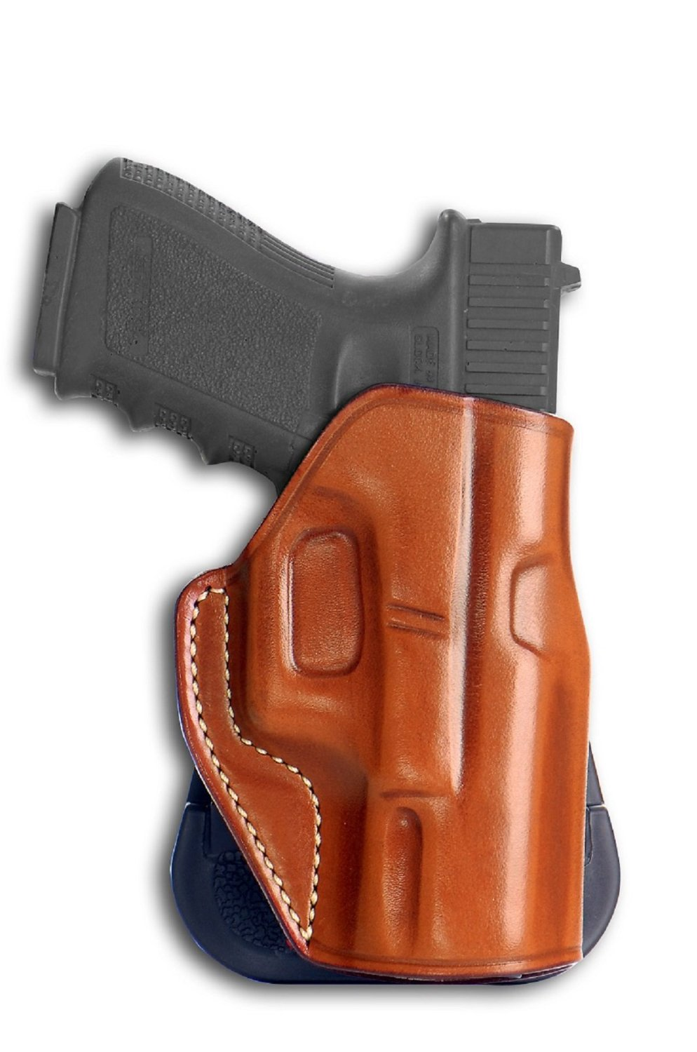 Buy LEATHER PADDLE HOLSTER (OWB) WITH OPEN TOP FOR FAST