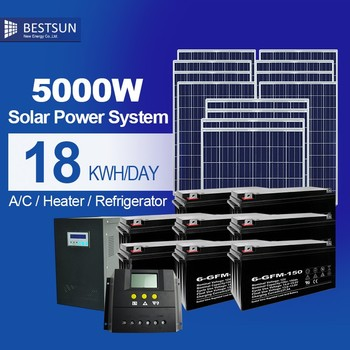 Metalroof Solar Generator 5000 Watt System 5kw Sun Power Solar Panels Buy Solar Power Generator Free Solar Energy Home System Product On Alibaba Com - Download Solar Panels For Sale In The Philippines PNG