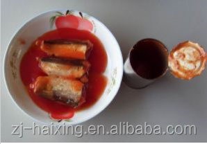 Easy Open Lid Canned Sardine in Tomato Sauce/125g