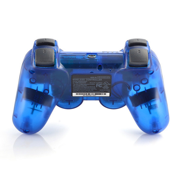 Wireless Game Controller SIXAXIS Bluetooth Game Controllers For Sony PS3 Controllers for PS3 Playstation3 TRANSPARENT Series