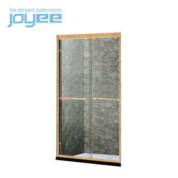 JOYEE shower barn door parts smart glass shower door