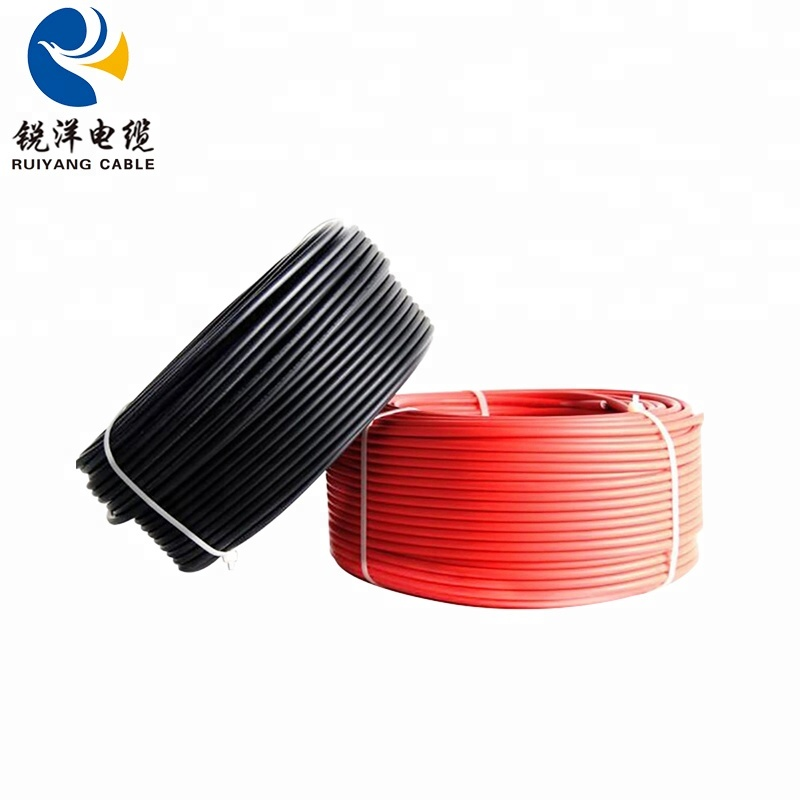 Pv Cable Tin Plated Copper For Solar Energy Power Panel Solar Station Photovoltaic Solar Pv Wire