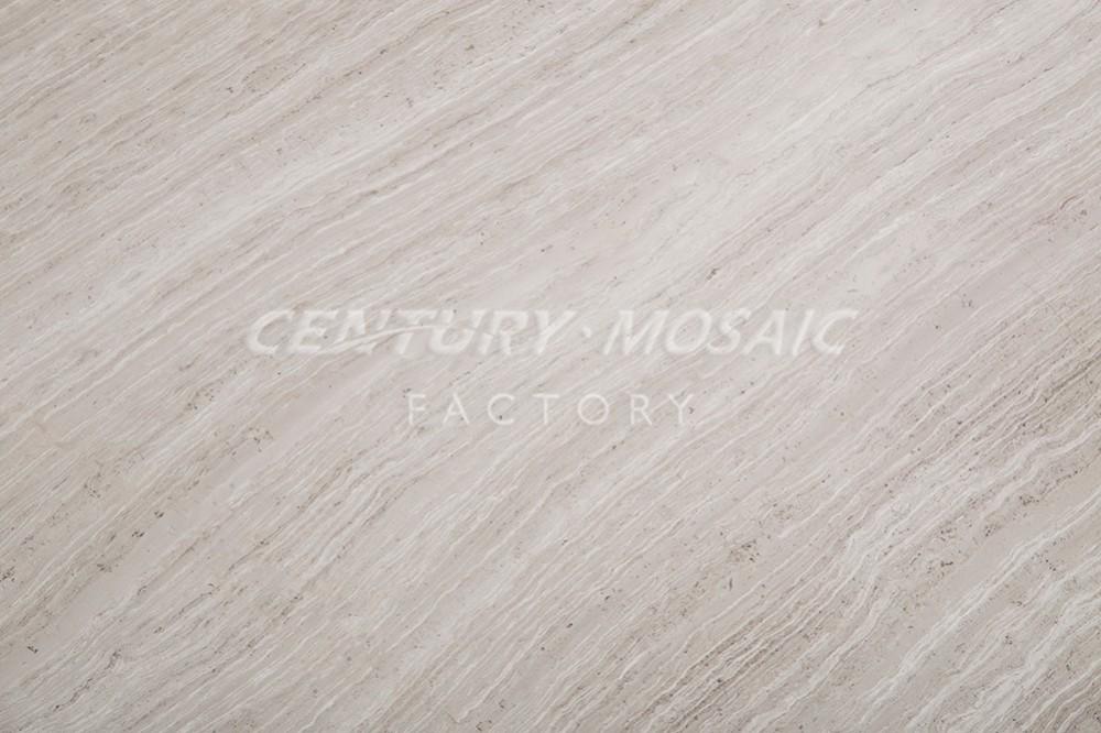 Effetto legno grano venato marmo pavimento di piastrelle