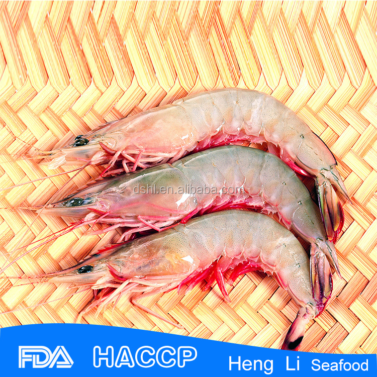 HL002 frozen seafood raw shrimp