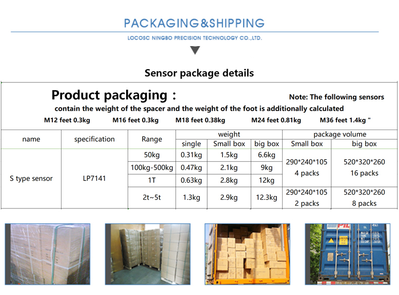 Chinese Reasonable Acceptable Price S Type Load Cell,400Kg Load Cell,60Kg Load Cell Sensor