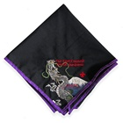 custom boy scout neckerchief girls club embroidery scarf