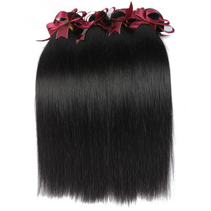 Alibaba china wholesale virgin hair extensions natural straight 6A 7A 8A grade brazilian hair