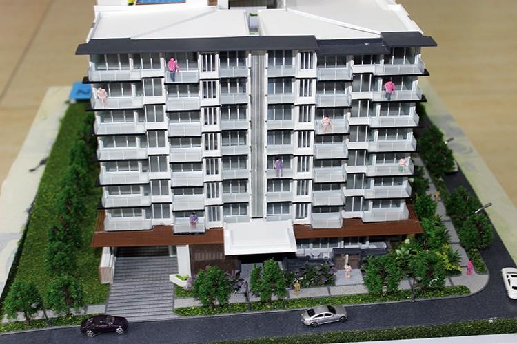 1 87 huis model herenhuis model miniatuur architectuur modellen andere bouw vastgoed product - Model van huisarchitectuur ...