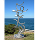 Modern Outdoor Decorative Art Stainless Steel Abstract Sculpture