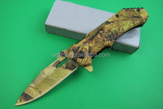 OEM Mini Folding Travel Outdoor Multi Functional Pocket Knife