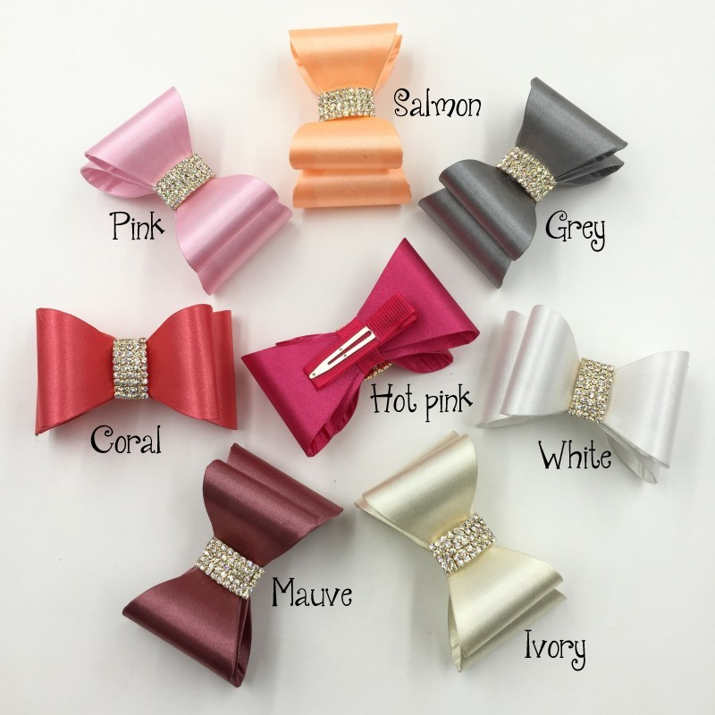 Cute Baby Girls Bows Hair Barrette Accessories Clips  Kids Hairpin Child Hair Ornaments Clip