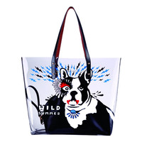 PVC material beach tote Bag