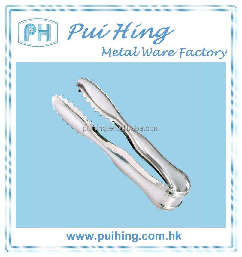 4-inch Mini Stainless Steel Sugar Tongs