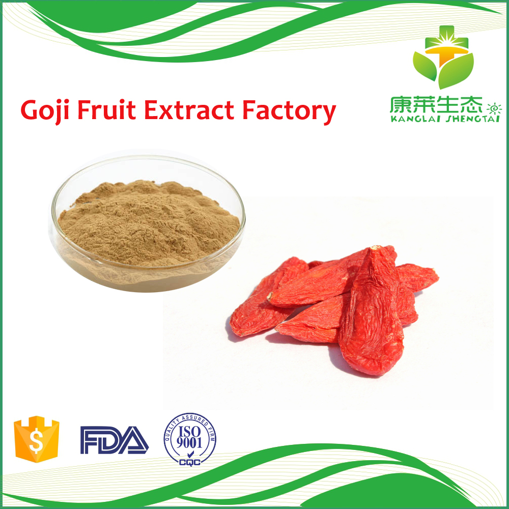 Hot Sale Chinese Goji berry P.E. extract powder Polysaccharides 40% with Free Sample rich vitamins