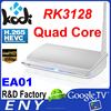 ENY New RK3128 Tv Box Android 4.4 Quad Core EA01 Quad Core Rockchip android smart tv with root access