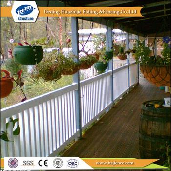 Verwendet Vinyl Kunststoff Garten Zaun Und Balkon Buy Kunststoff