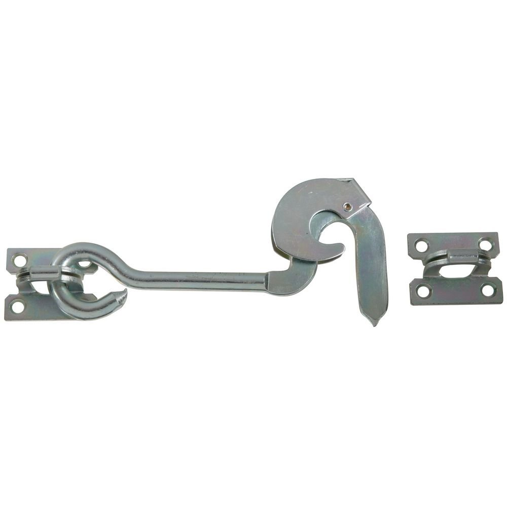 """National Hardware N122-390 2110BC Safety Gate Hook Zinc plated, 8"""""""