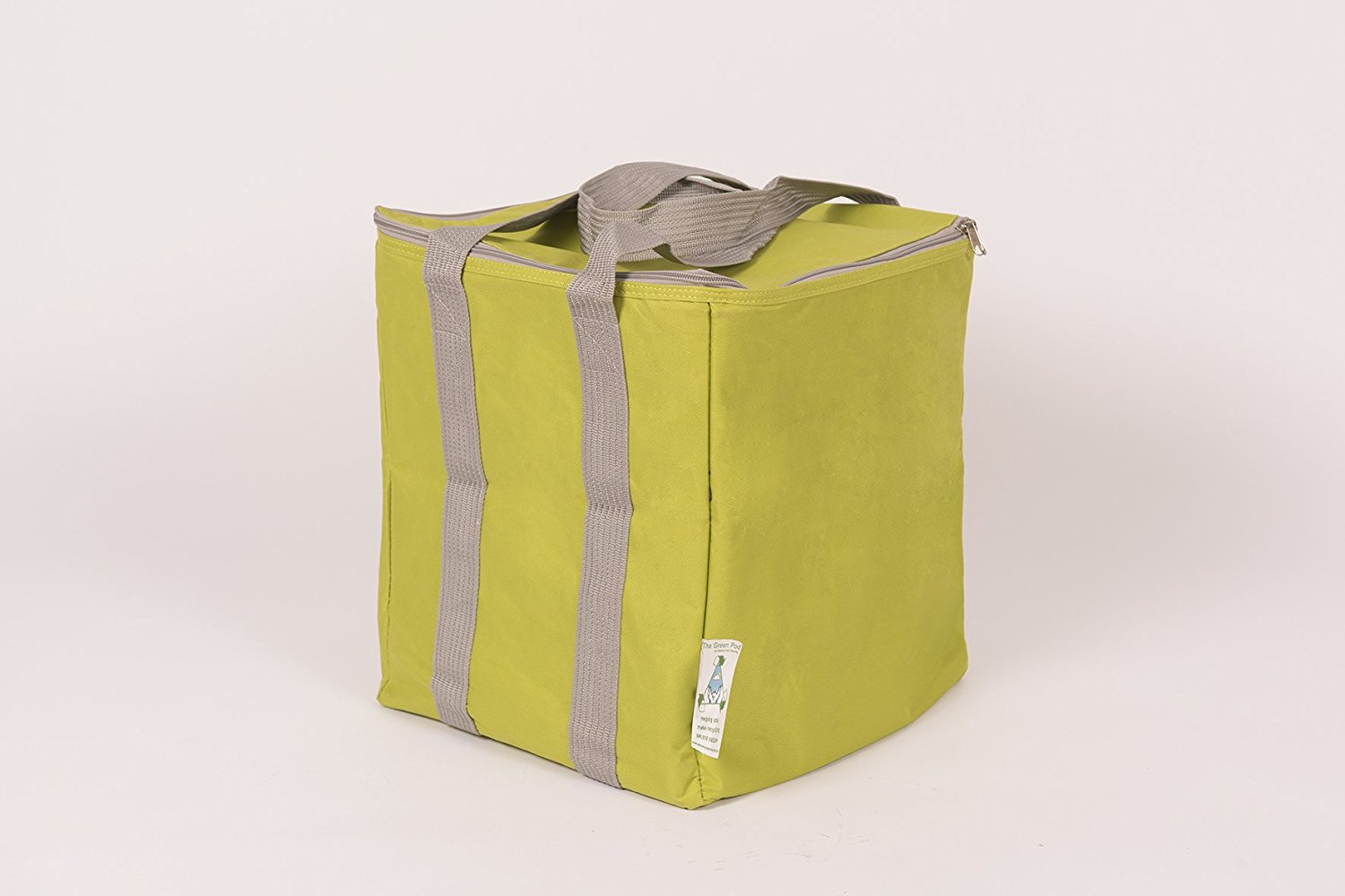 The Green Pod Recycling Bag - with removable bags inside (Green, 30 Liters)