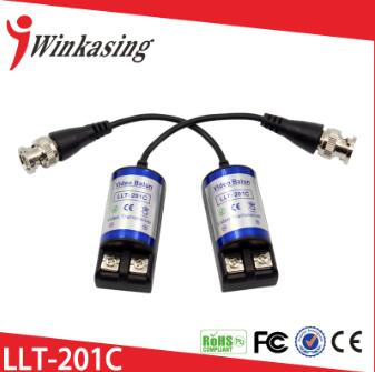 Cat5 or better cable rj45 1ch passive video balun LLT-201C