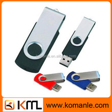 Promotional Cheap price Swivel promotional custom usb flash drive leather