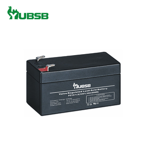 Small sealed rechargeable lead acid battery 12v 1.3Ah from factory