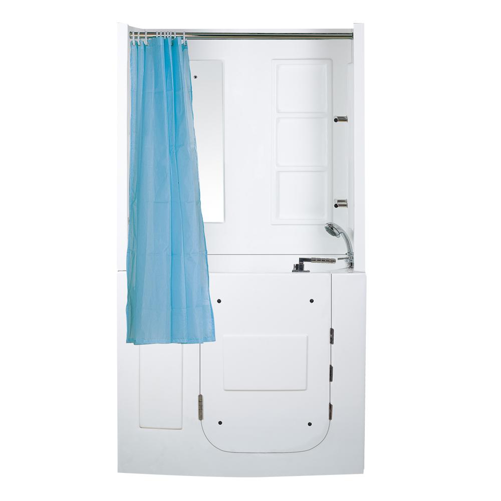 Hs B1108b One Piece Bathtub Shower Walk In Bathtub Shower Combo