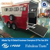 kitchen and cupboard Horse Trailer,beautiful cheap horse trailer,bumper pull horse trailer