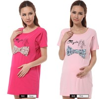 factory direct sell fashional design maternity t shirts