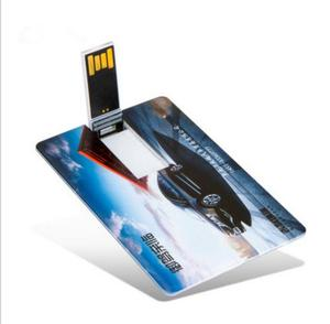Best selling business gift free full colour logo card USB Memory Stick Pen Drive