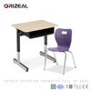 Wholesale school furniture desk and chair Single Student desk and chair Best value