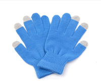 New Hand Knitting Glove Winter Keep Warm Touch Screen Gloves For Cell Phone