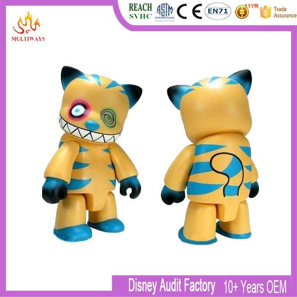 3 Eyes Cool Bear Plastic Mini Figurines/kids Cartoon Doll/making ...