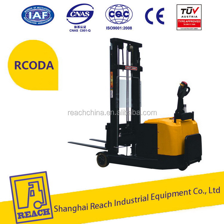 China best choice load capacity electric forklift truck with low speed
