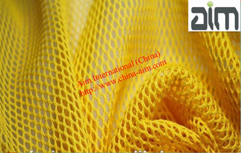 100% hexagonal mesh Polyester Fabric