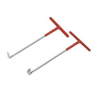 2 Pcs Motorcycle ATV Pipe Exhaust Spring Hook Puller Removal Tool
