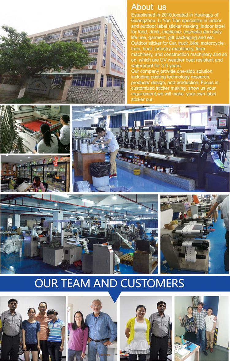 Fabbrica a buon mercato stampato a4 carta di codici a barre adesivo rotolo, di codici a barre adesivo