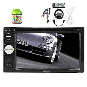 Christmas Sale!!! CD Pupug Top GPS Navi Receiver 6.2 Inch Android 4.2.2 Car PC In-Dash DVD Player With GPS Navigation For Automotive Universal Double DIN GPS Navigation Receiver Stereo With Wi