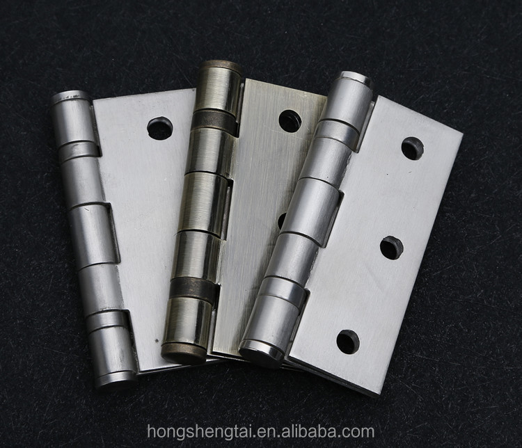 3 inch small metal door hinge for window and door with iron and stainless steel material