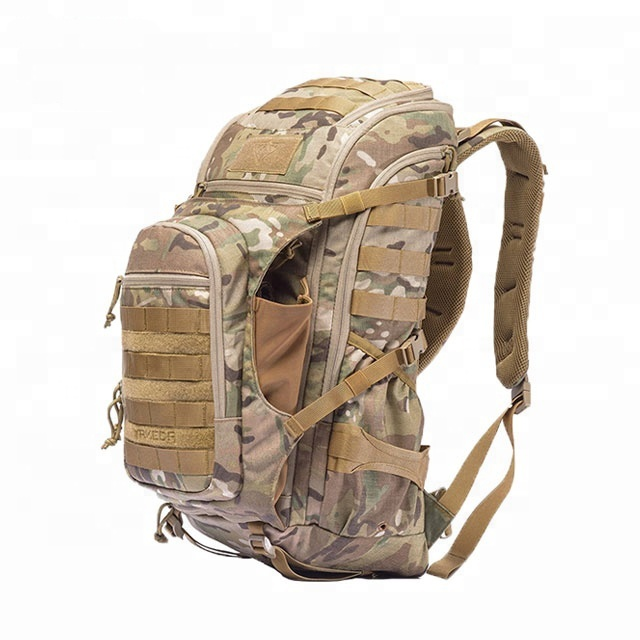 YAKEDA 50l Assault bag Pack Army hiking Molle 3-day 72 hours Military Tactical Backpack